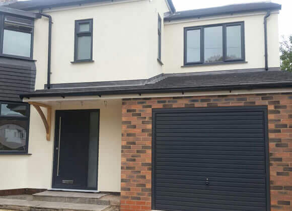 front of house after extension in bolton