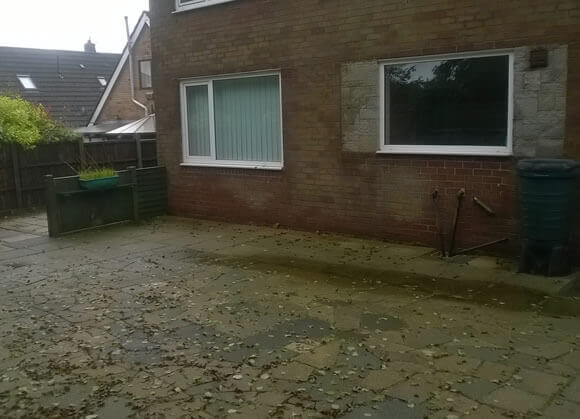 back of house before extension in bolton